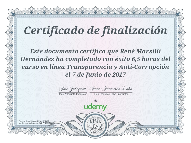 CoF Sam.can Udemy Transp y Anti-Corrup